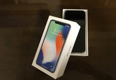 iPhone X開封の儀